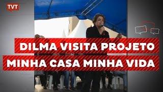 Baixar Dilma visita moradores do condomínio João Cândido, em Taboão
