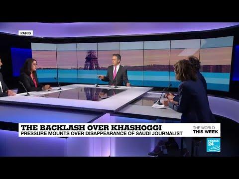 WORLD THIS WEEK The backlash over Khashoggi; Mbappé fever; Bavaria's elections