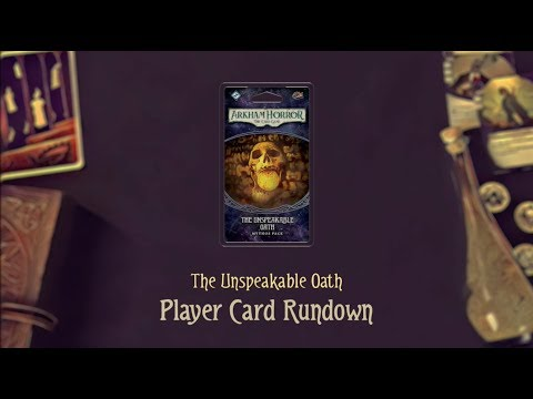 Arkham Horror: The Card Game – The Unspeakable Oath: Mythos