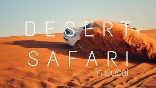 Desert Safari in Dubai  | Must Do Activity in the UAE