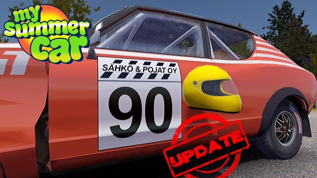 Helmet Rally Stickers On Satsuma My Summer Car Update 19 Radex