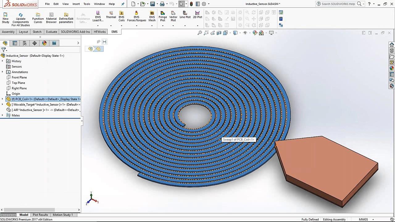 EMS Webinar : Designing Inductive Proximity Sensor Using EMS - YouTube