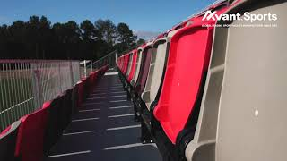 Avant Seating Project CHI Memorial Stadium in Tennessee US