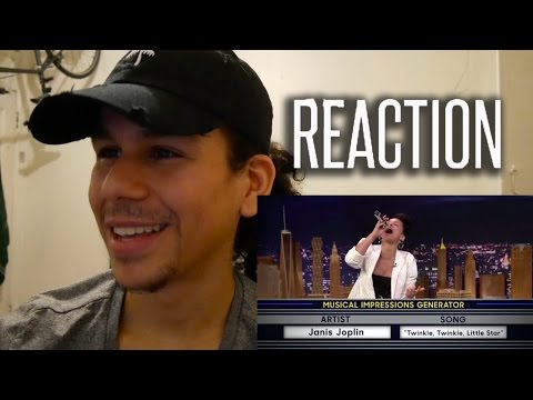 Wheel of Musical Impressions with Alicia Keys REACTION!!