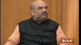 BJP President Amit Shah in Aap Ki Adalat (Full ...