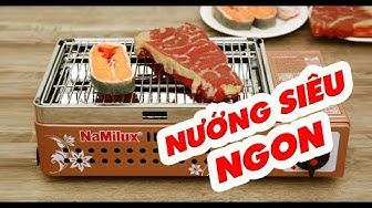 Bếp nướng hồng ngoại gas Namilux chính hãng NA 24N VN. #namilux
