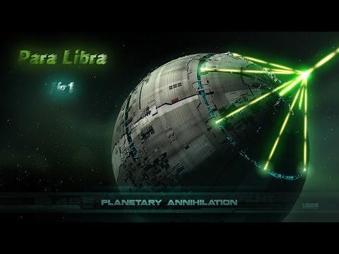 Planetary Annihilation. Обзор прикольной стратегии. 1 видео