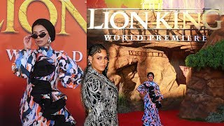 DISNEY INVITED ME TO HOLLYWOOD?! LION KING WORLD PREMIERE