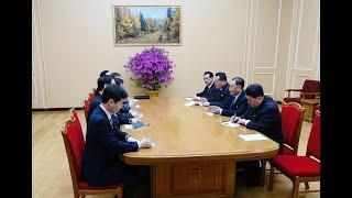 زعيم كوريا الشمالية يلتقي مبعوثي كوريا الجنوبية
