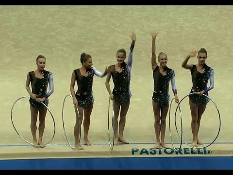 Hungary (PESARO-2017) Rhythmic Group Gymnastics hoop