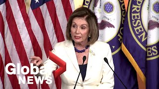 'Don't mess with me': Nancy Pelosi confronts reporter who asked if she hates Trump