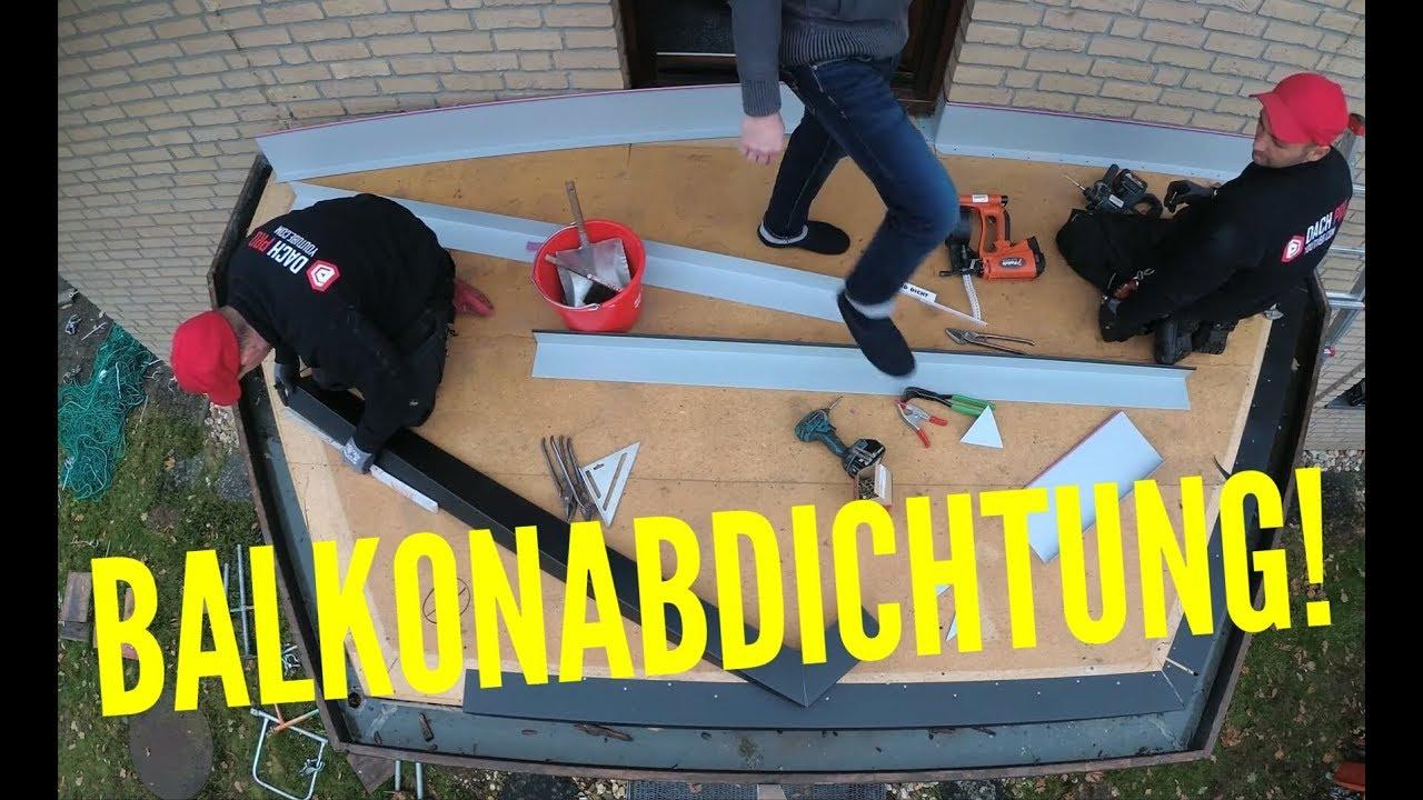 Dachdecker / Balkonabdichtung / Balcony Waterproofing - Youtube