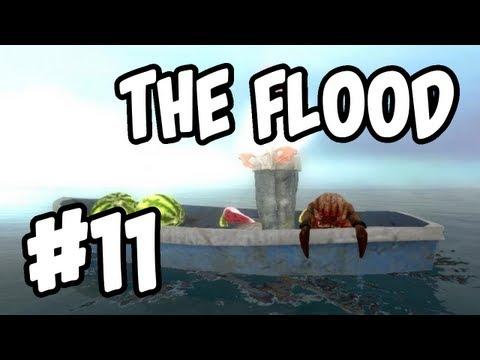 Garry's Mod The Flood Ep.11-Expert Boat Building!