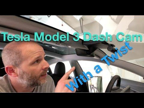 Tesla Model 3 Dash Camera With A Twist