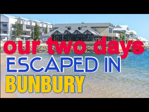 TWO DAYS ESCAPED IN BUNBURY PERTH AUSTRALIA❤lizasfergie Vlogs