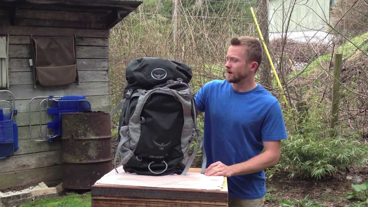 The Osprey Stratos 36 Review The Outdoor Gear Review