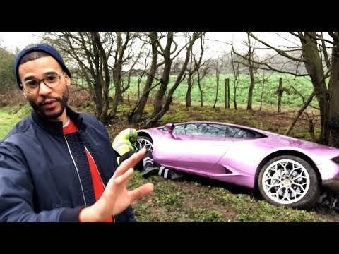 Bitcoin Investor Crashes £290k Lamborghini In A Ditch