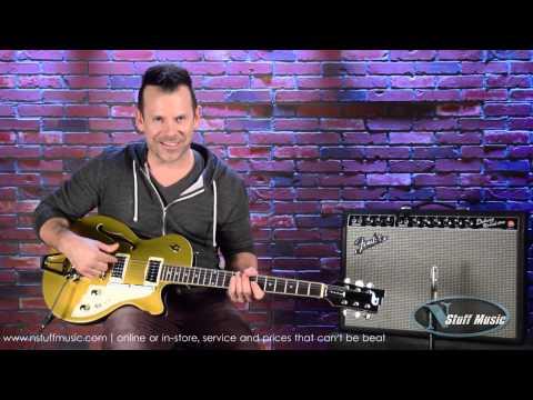 Duesenberg Starplayer TV Gold Top Electric Guitar | N Stuff Music Product Review