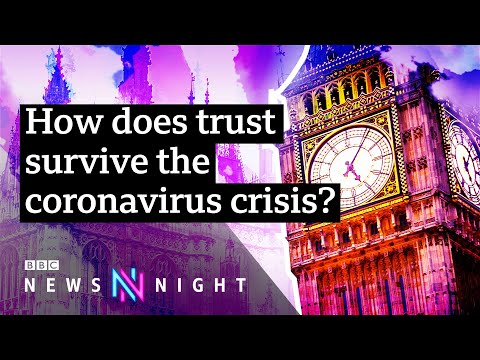 Covid19: How governments keep public trust in a crisis - BBC Newsnight