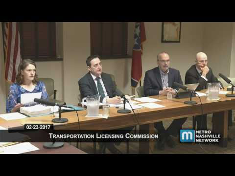 02/23/17 Transportation Licensing Meeting