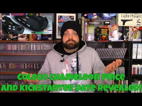 Coleco Chameleon Price and Kickstarter Date Revealed! | RGT 85