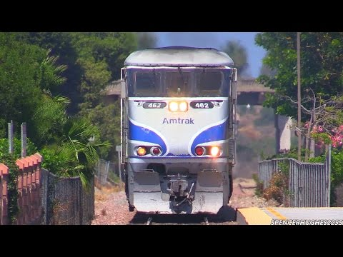 Thumbnail: Amtrak Trains in multiple locations (August 31st, 2014)