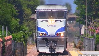 Amtrak Trains in multiple locations (August 31st, 2014)