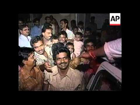 INDIA: VAJPAYEE'S ALLIANCE WINS ELECTION