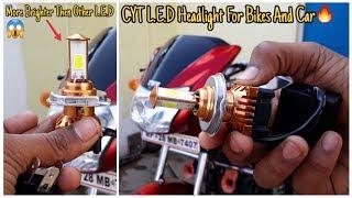Superb led headlight for bikes & cars  Cyt led headlight  