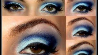 Maquiagem para formatura - Tudo azul!