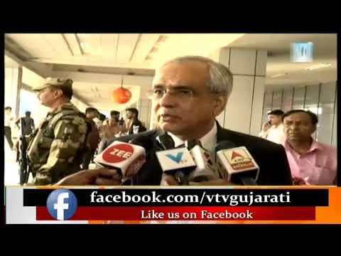 NITI Aayog Vice-Chairman Rajiv Kumar to meet with CM Rupani at 10AM   Vtv News