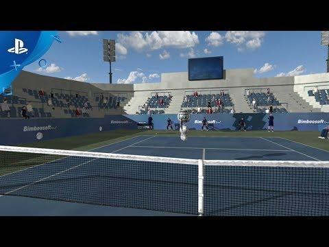 Dream Match Tennis VR - Online Multiplayer Reveal Trailer | PS VR