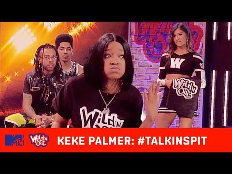 Chico Bean Shows Keke Palmer鈥檚 Real Hair 馃槱 | Wild 'N Out | #TalkinSpit