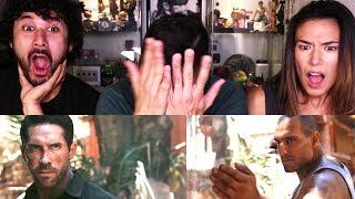 SCOTT ADKINS & MARKO ZAROR FIGHT SCENE | Reaction w/ Megan Le & Greg Alba!