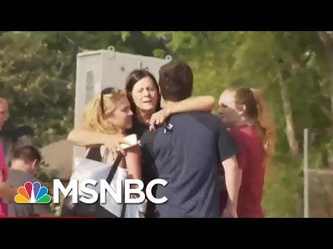 Mom Of Santa Fe School Shooting Survivor: Guardian Angel Was Protecting Her | Velshi & Ruhle | MSNBC