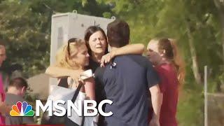 Mom Of Santa Fe School Shooting Survivor: Guardian Angel Was Protecting Her | Velshi & Ruhle | MSNBC