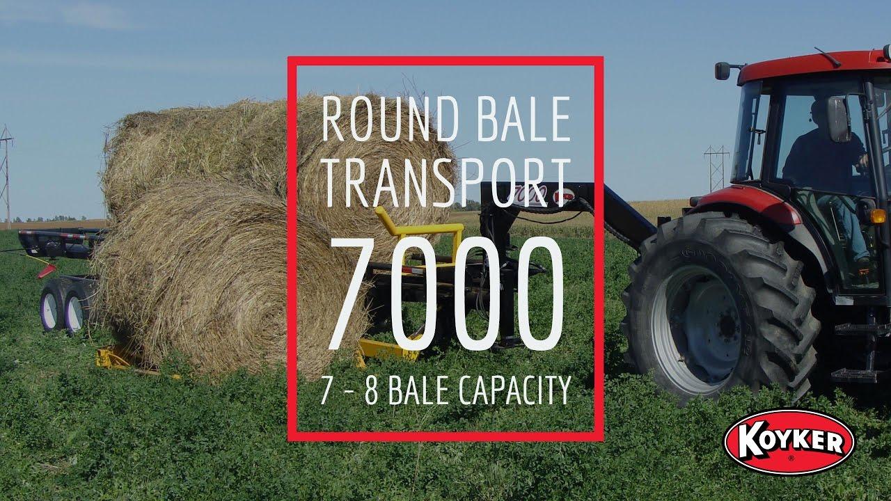 Koyker Manufacturing - Round Bale Transport - Interceptor