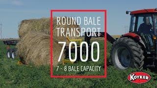 Round Bale Transport 7000