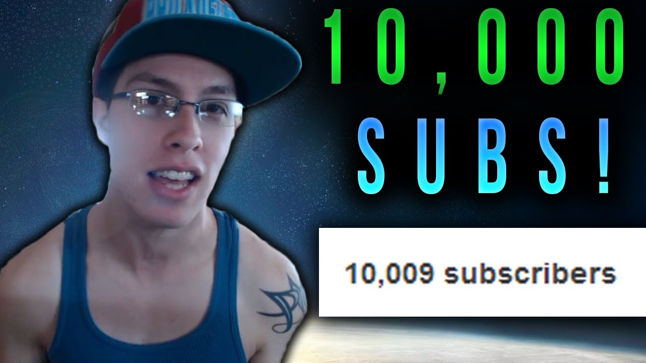 10,000 subscribers for commenting - YouTube
