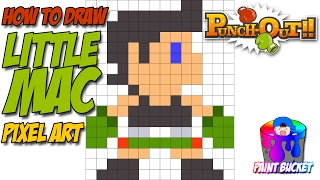 How to Draw Punch-Out!! Little Mac - Super Smash Bros Drawing Tutorial
