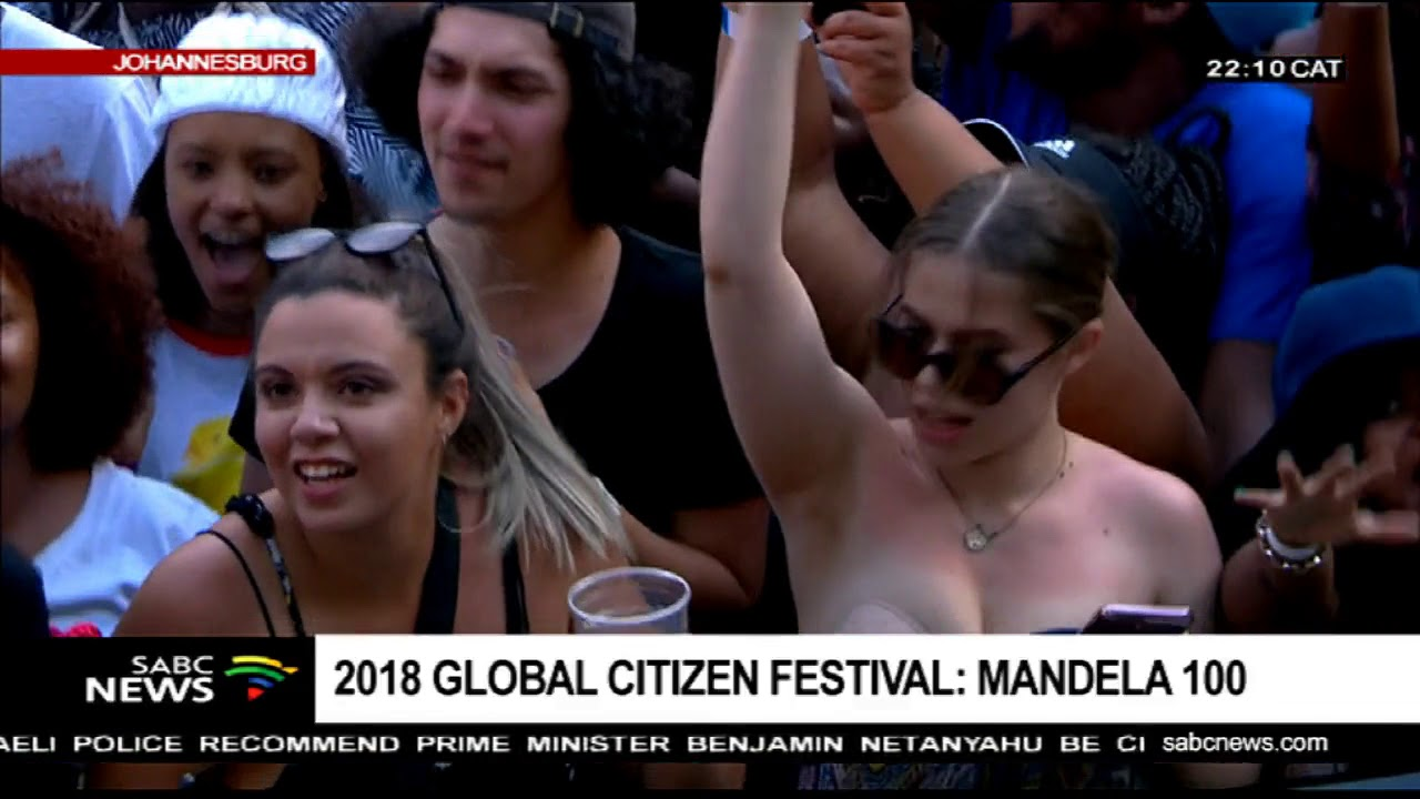 Beyonce wraps the Global Citizen Festival in Johannesburg
