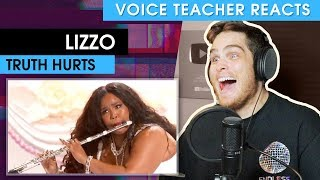 Voice Teacher Reacts to Lizzo - Truth Hurts (Live)