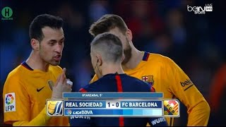 Summary Real Sociedad vs Barcelona 1-0 La Liga 9-4-2016 HD1080