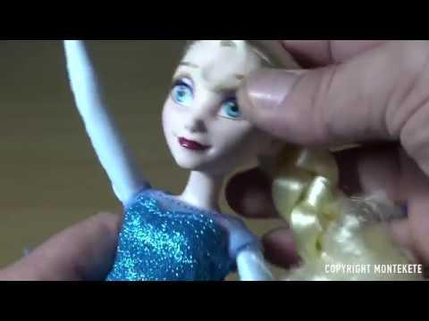 Kleidung & Accessoires Die Eiskönigin singende Lichterglanz Elsa Hasbro Disney FROZEN