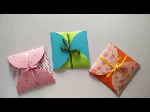Easy Gift cards Envelope | DIY Envelope making ideas | Full Tutorial |