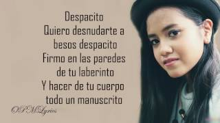 Lyrics Despacito X Sorry Luis Fonsi X Justin Bieber by Hanin Dhiya