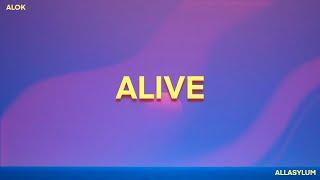 Alok - Alive (It Feels Like) [lyrics]|ᴇʟᴇᴄᴛʀᴏɴɪᴄ ᴅᴀɴᴄᴇ ᴍᴜsɪᴄ|