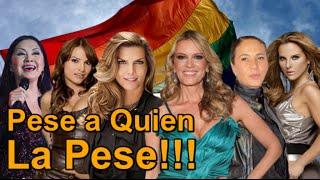 Famosas mexicanas que les gustan las mujeres