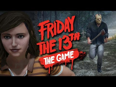 ESCAPING IN THE BOAT - Friday the 13th The Game Multiplayer [Part 2]