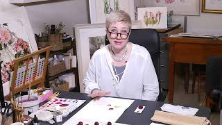 How to Paint a Cherry Tutorial ⎮Watercolour Beautiful ⎮Billy Showell